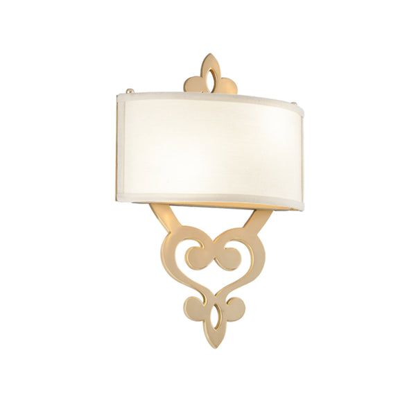 Corbett Lighting 201-12 Olivia 2lt Wall Sconce in Solid Brass
