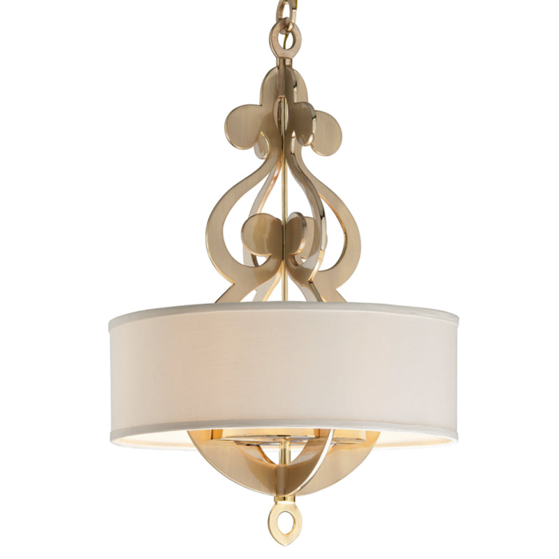 Corbett Lighting 201-46 Olivia 8lt Pendant in Solid Brass