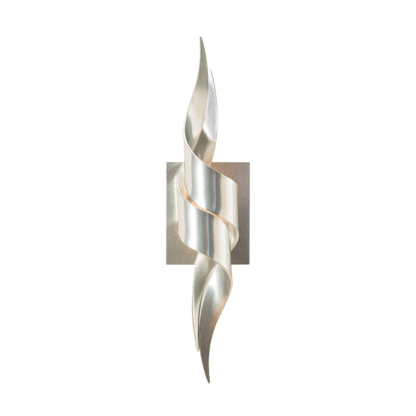 Hubbardton Forge 206101-1001 Wall Light Flux Sconce in Vintage Platinum