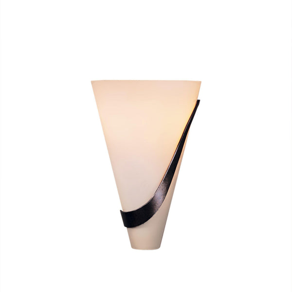 Hubbardton Forge 206563-1027 Wall Light Half Cone Sconce in Bronze