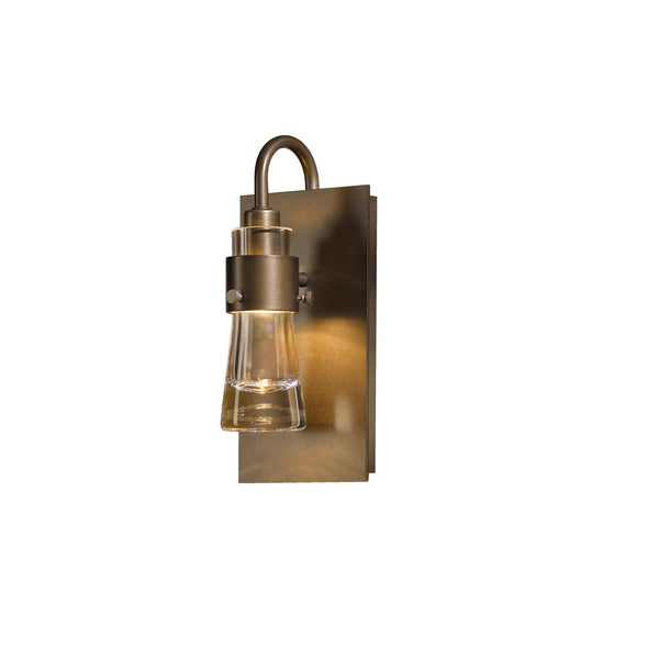 Hubbardton Forge 207720-1007 Wall Light Erlenmeyer ADA Sconce in Bronze