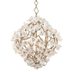 Corbett Lighting 211-46 Lily 6lt Pendant in Hand-Crafted Iron