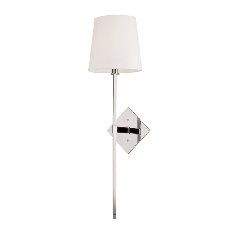 Hudson Valley Lighting 211-PN Cortland 1 Light Wall Sconce in Polished Nickel
