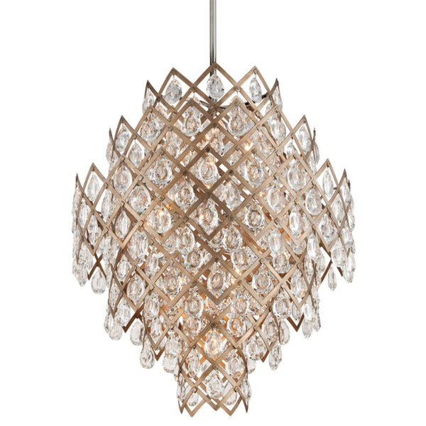 Corbett Lighting 214-411 Tiara 11lt Pendant Medium in