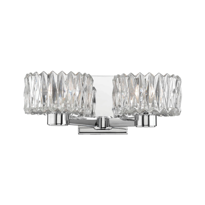 Hudson Valley Lighting 2172-PC Anson 2 Light Bath Bracket in Polished Chrome