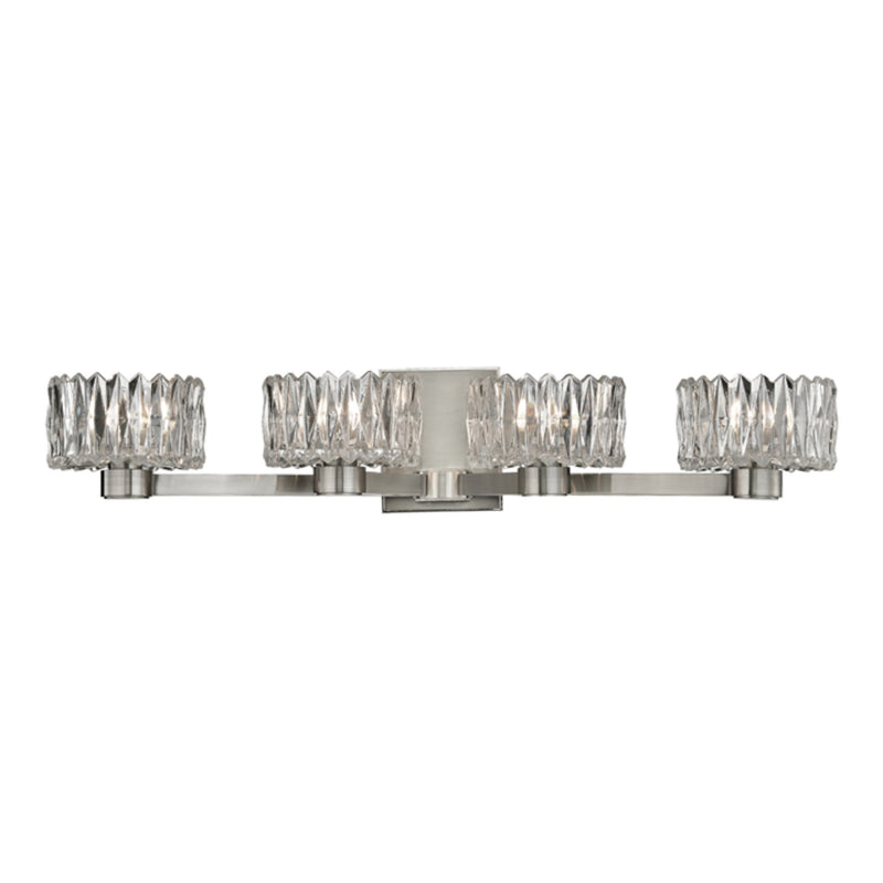 Hudson Valley Lighting 2174-SN Anson 4 Light Bath Bracket in Satin Nickel