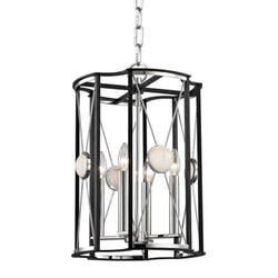Hudson Valley Lighting 2213-PN Cresson 4 Light Pendant in Polished Nickel