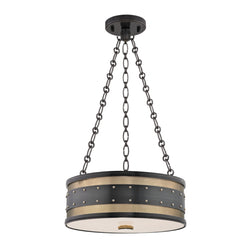 Hudson Valley Lighting 2216-AOB Gaines 3 Light Pendant in Aged Old Bronze