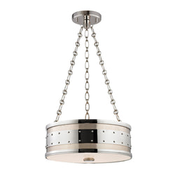 Hudson Valley Lighting 2216-PN Gaines 3 Light Pendant in Polished Nickel