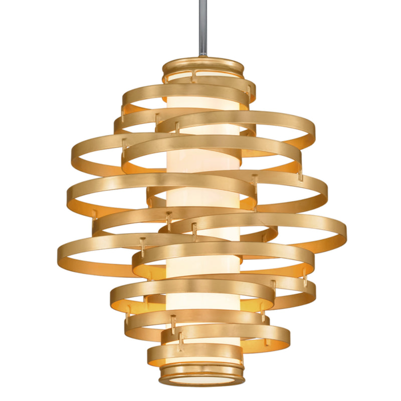 Corbett Lighting 225-43 Vertigo 3lt Pendant Medium in Hand-Crafted Iron