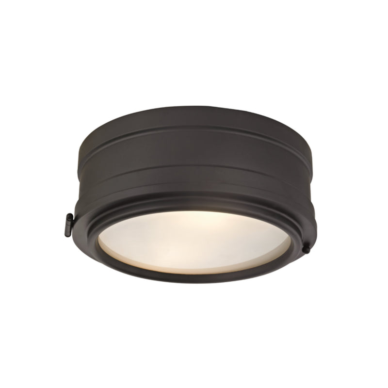 Hudson Valley Lighting 2311-OB Rye 2 Light Flush Mount in Old Bronze