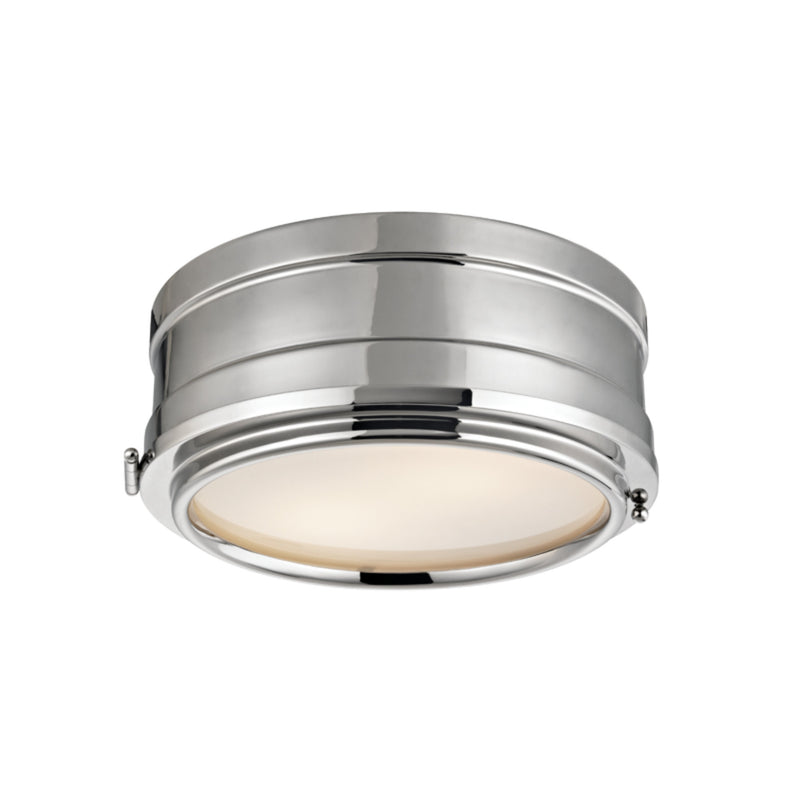 Hudson Valley Lighting 2311-PN Rye 2 Light Flush Mount in Polished Nickel