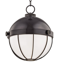 Hudson Valley Lighting 2315-OB Sumner 1 Light Pendant in Old Bronze