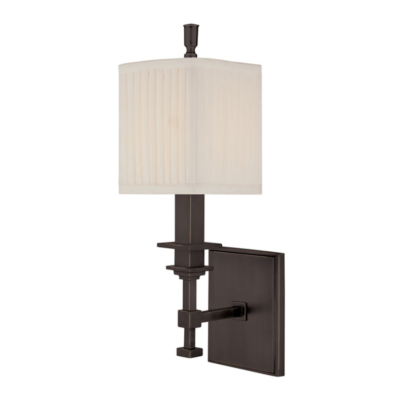 Hudson Valley Lighting 241-OB Berwick 1 Light Wall Sconce in Old Bronze