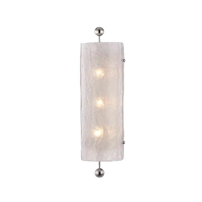 Hudson Valley Lighting 2422-PN Broome 3 Light Wall Sconce in Polished Nickel