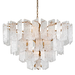 Corbett Lighting 244-412 Piemonte 12lt Chandelier in Hand-Crafted Iron