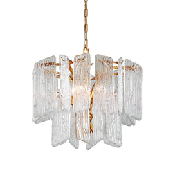 Corbett Lighting 244-44 Piemonte 4lt Chandelier in Hand-Crafted Iron