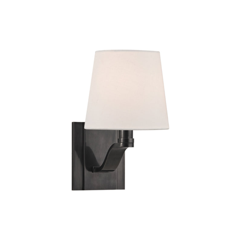 Hudson Valley Lighting 2461-OB Clayton 1 Light Wall Sconce in Old Bronze