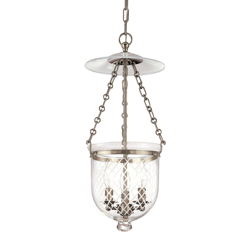 Hudson Valley Lighting 252-HN-C2 Hampton 3 Light Pendant in Historic Nickel
