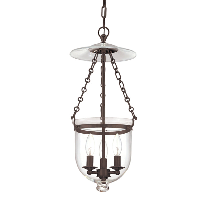 Hudson Valley Lighting 252-OB-C1 Hampton 3 Light Pendant in Old Bronze