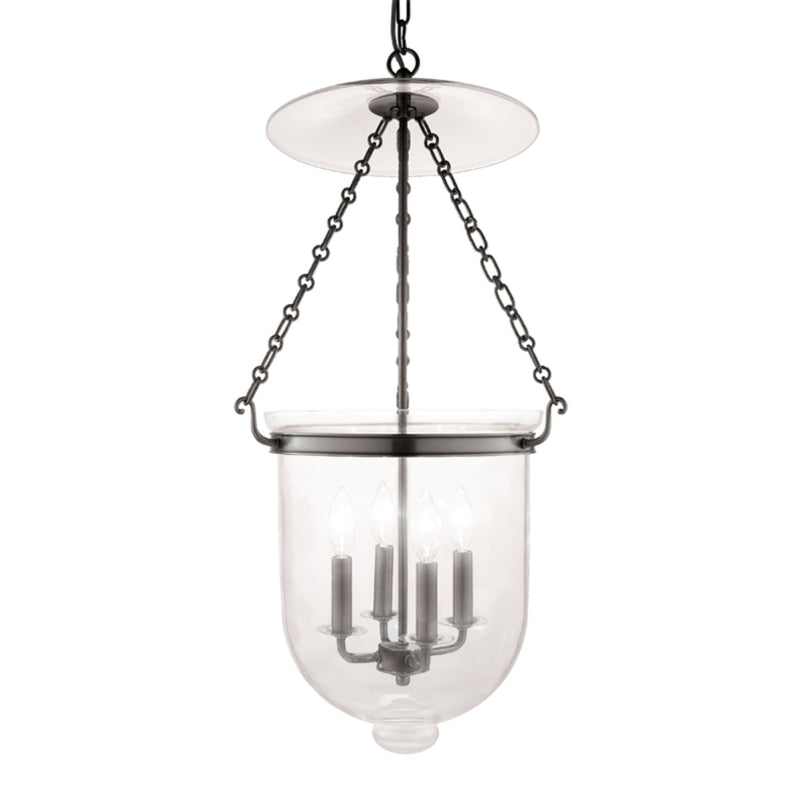 Hudson Valley Lighting 255-HN-C1 Hampton 4 Light Pendant in Historic Nickel
