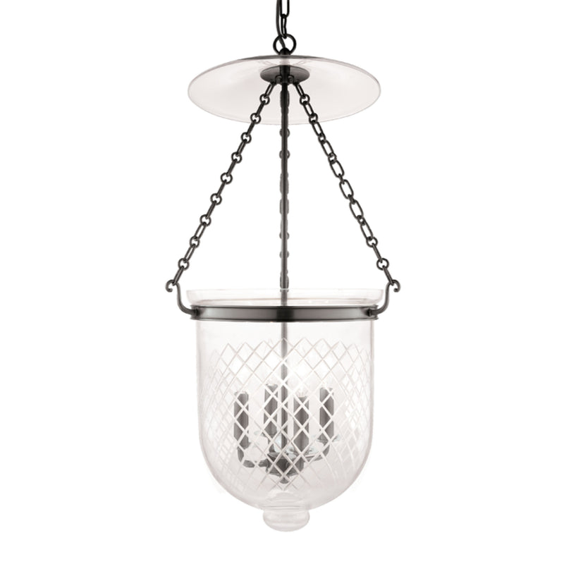 Hudson Valley Lighting 255-HN-C2 Hampton 4 Light Pendant in Historic Nickel