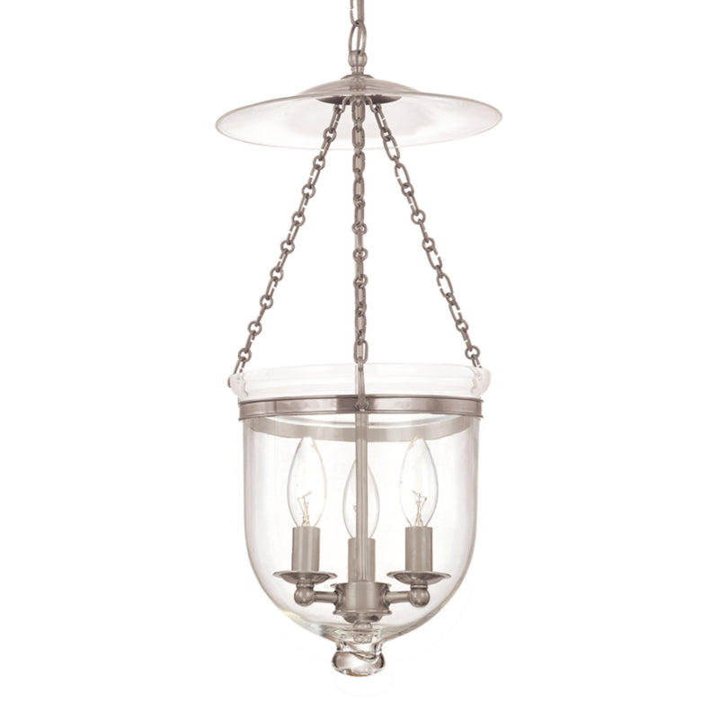 Hudson Valley Lighting 255-PN-C1 Hampton 4 Light Pendant in Polished Nickel