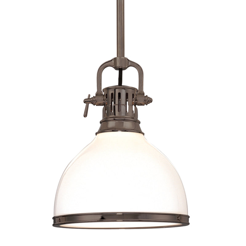 Hudson Valley Lighting 2623-HB Randolph 1 Light Pendant in Historic Bronze