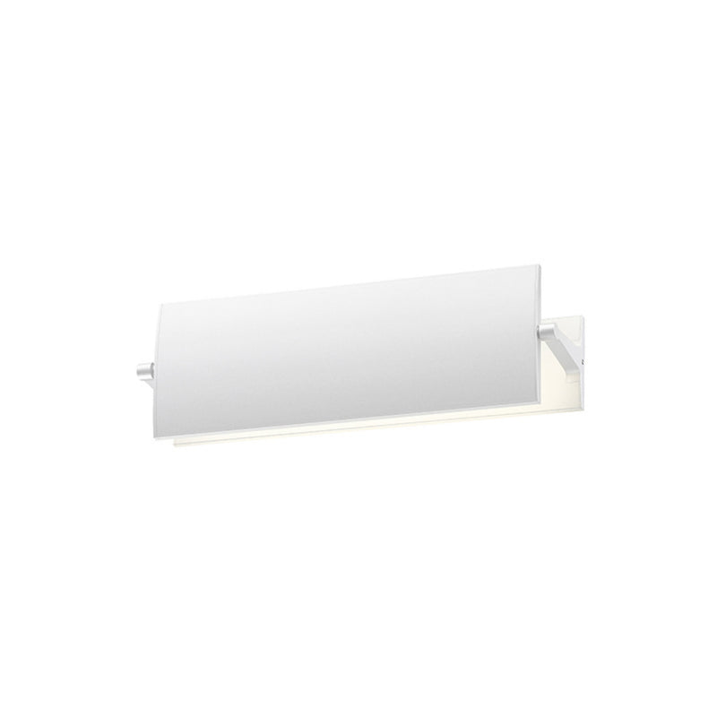 "Sonneman 2700.98 Aileron 12"" LED Sconce in Textured White"