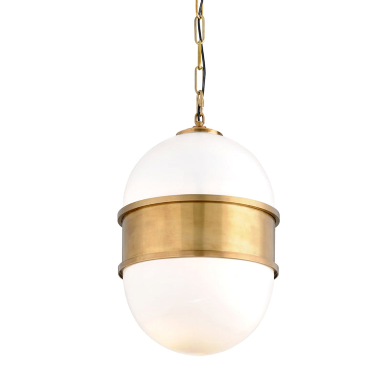 Corbett Lighting 272-42 Broomley 2lt Pendant in Solid Brass