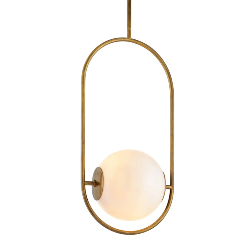 Corbett Lighting 273-43 Everley 1lt Pendant in Solid Brass
