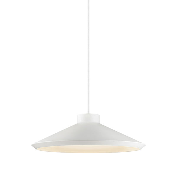 Sonneman 2754.03-G Koma Edo Pendant w/GU24 Base in Satin White