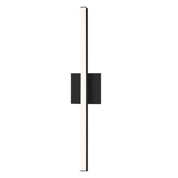 "Sonneman 2770.25 Stix 24"" LED Bath Bar in Satin Black"