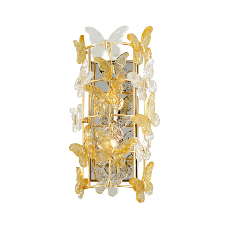 Corbett Lighting 279-12 Milan 2lt Wall Sconce in Hand-Crafted Iron