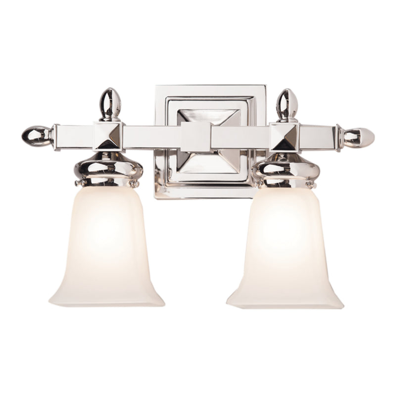 Hudson Valley Lighting 2822-PN Cumberland 2 Light Bath Bracket in Polished Nickel