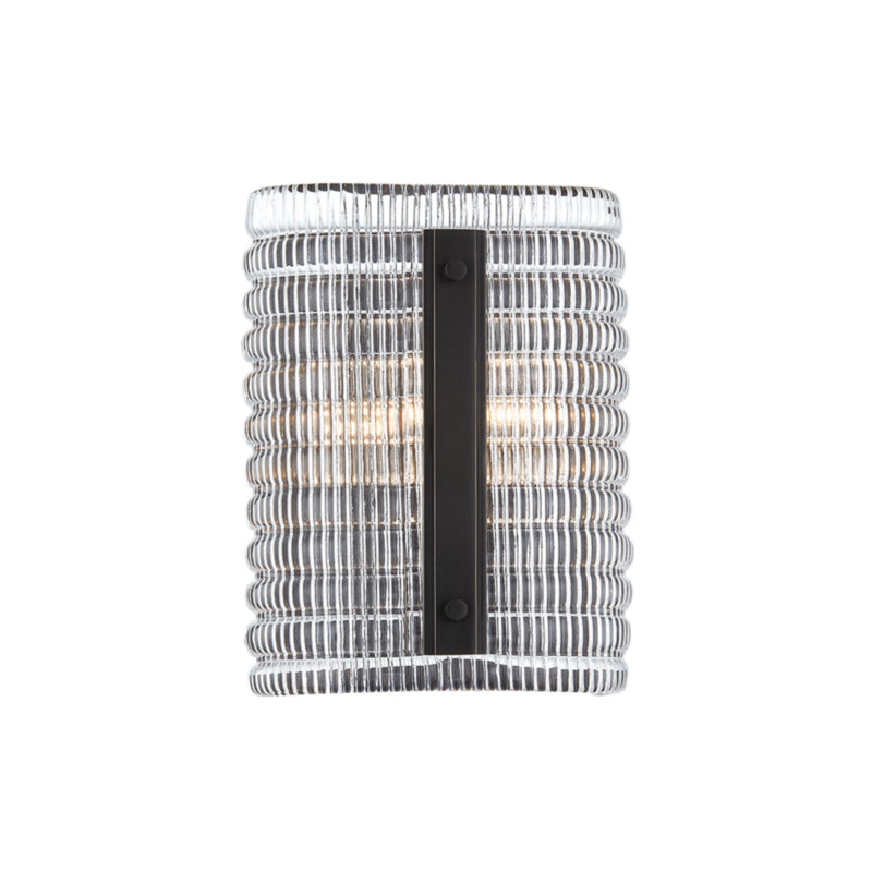 Hudson Valley Lighting 2852-OB Athens 2 Light Wall Sconce in Old Bronze