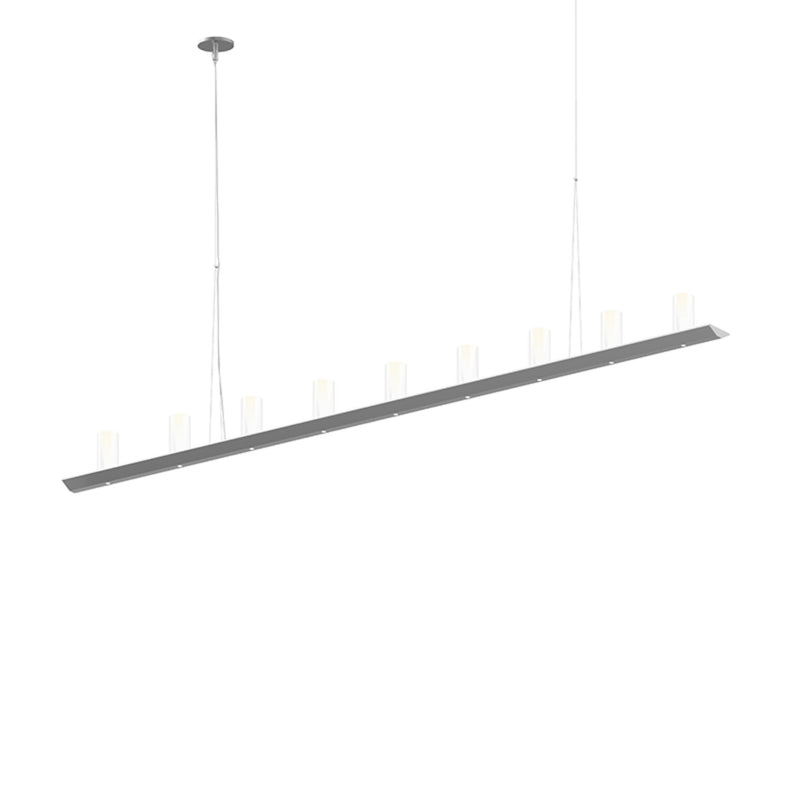 Sonneman 2859.16-SC Votives 6' LED Bar Pendant in Bright Satin Aluminum