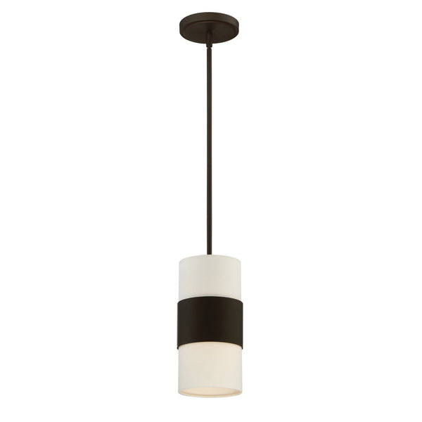 Crystorama 290-DB Grayson Pendant in Dark Bronze
