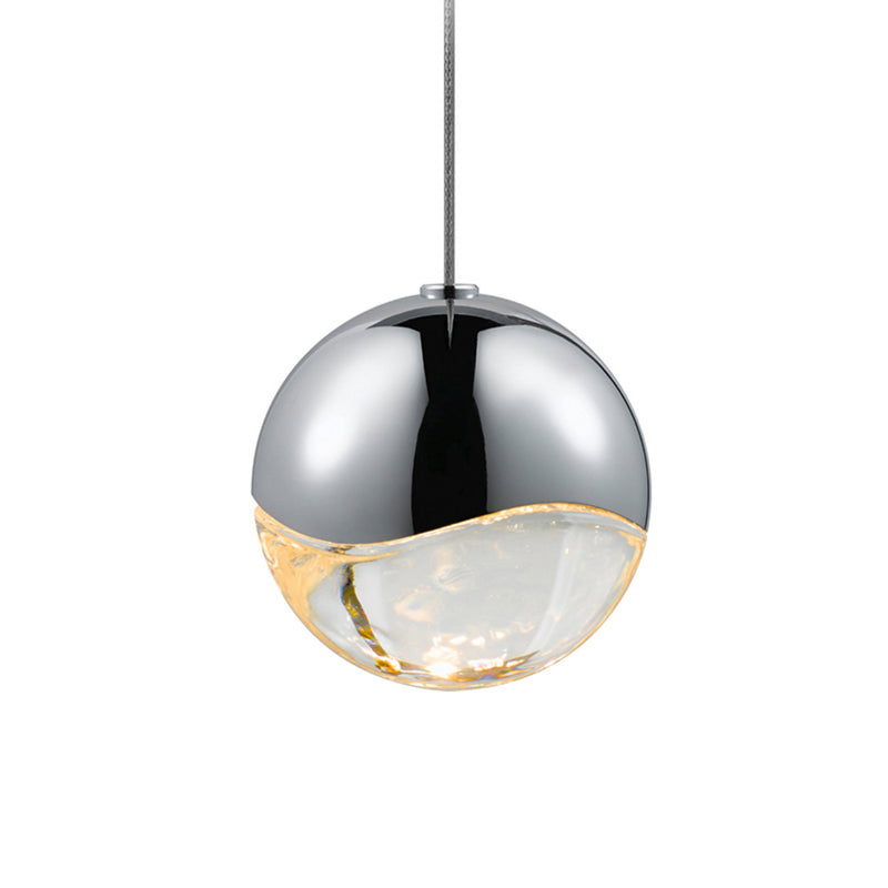 Sonneman 2912.01-MED Grapes Medium LED Pendant w/Dome Canopy in Polished Chrome
