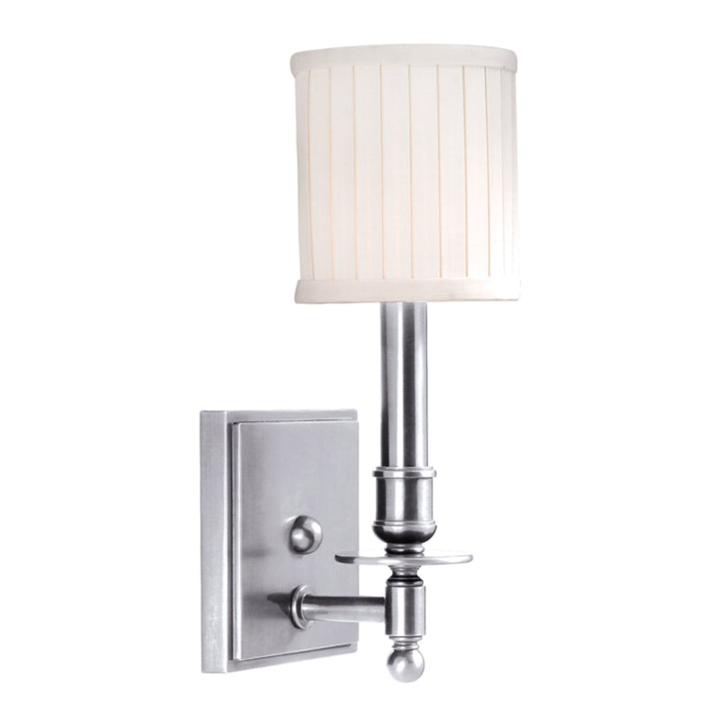 Hudson Valley Lighting 301-PN Palmer 1 Light Wall Sconce in Polished Nickel