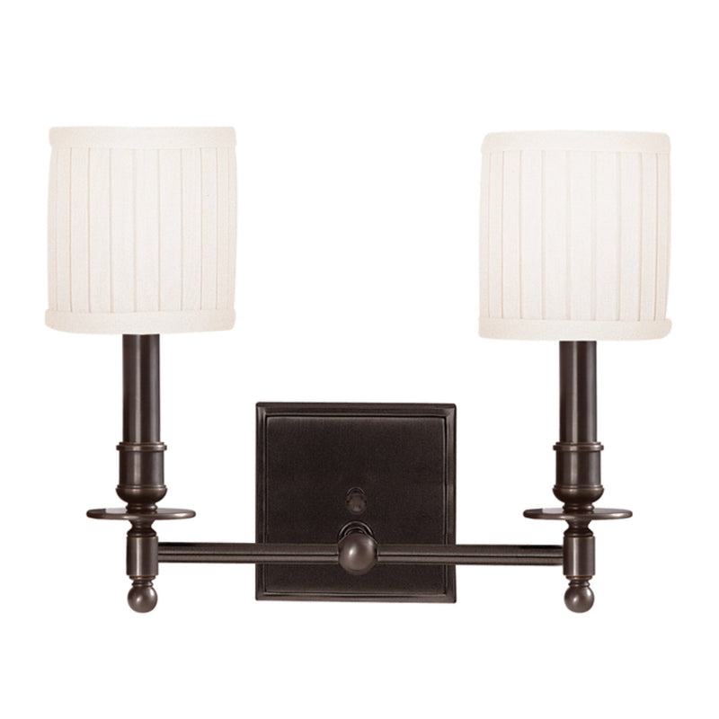 Hudson Valley Lighting 302-OB Palmer 2 Light Wall Sconce in Old Bronze