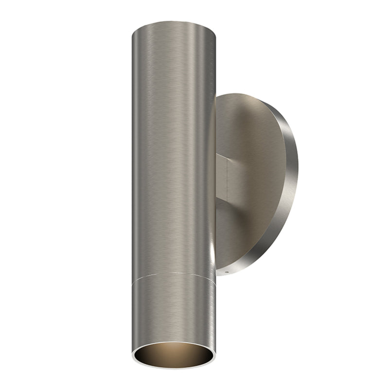 "Sonneman 3050.13-SN25 ALC 2"" One-Sided LED Sconce w/Snoot Trim and 25i Narrow Flood Lens in Satin Nickel"