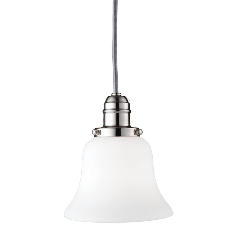 Hudson Valley Lighting 3102-PN-341 Vintage Collection 1 Light Pendant in Polished Nickel