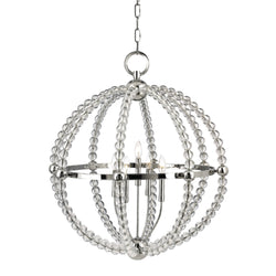 Hudson Valley Lighting 3130-PN Danville 5 Light Chandelier in Polished Nickel