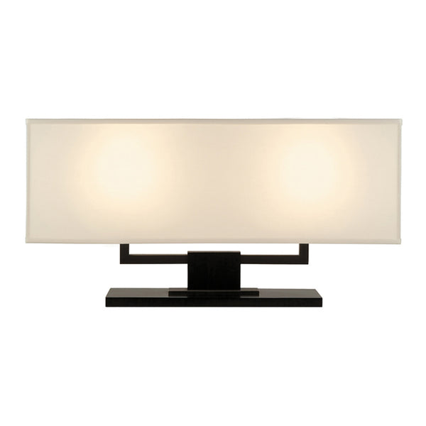 Sonneman 3312.51 Hanover Banquette Lamp in Black Brass