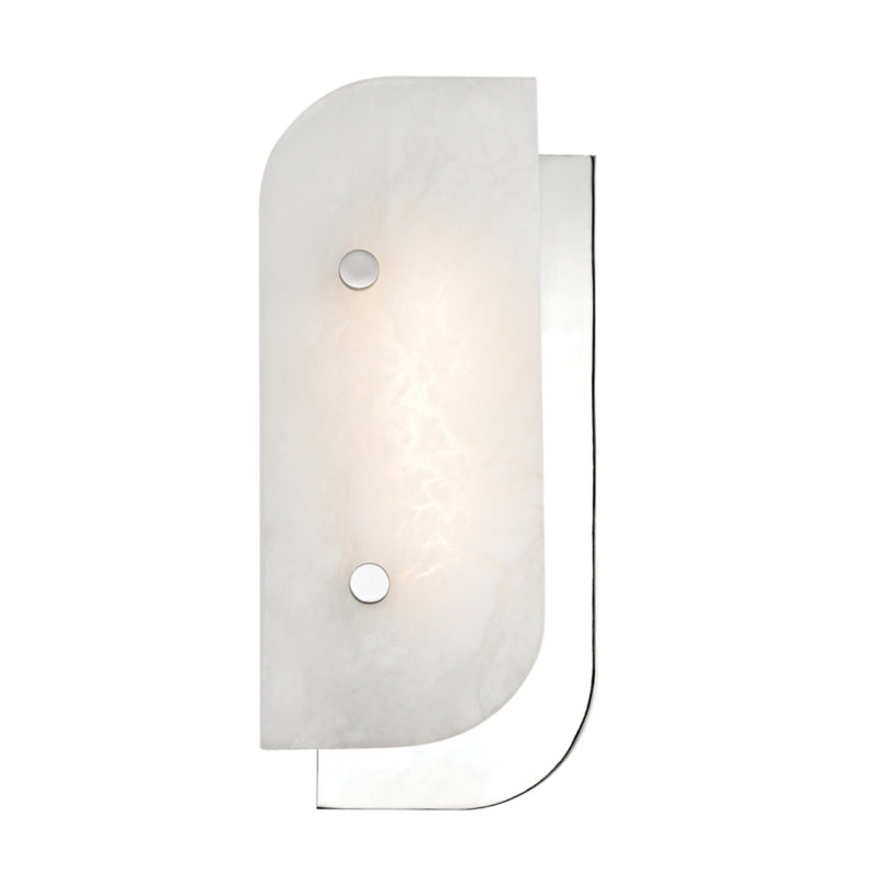 Hudson Valley Lighting 3313-PN Yin & Yang Small Led Wall Sconce in Polished Nickel