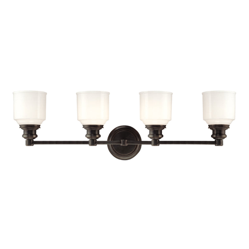 Hudson Valley Lighting 3404-OB Windham 4 Light Bath Bracket in Old Bronze