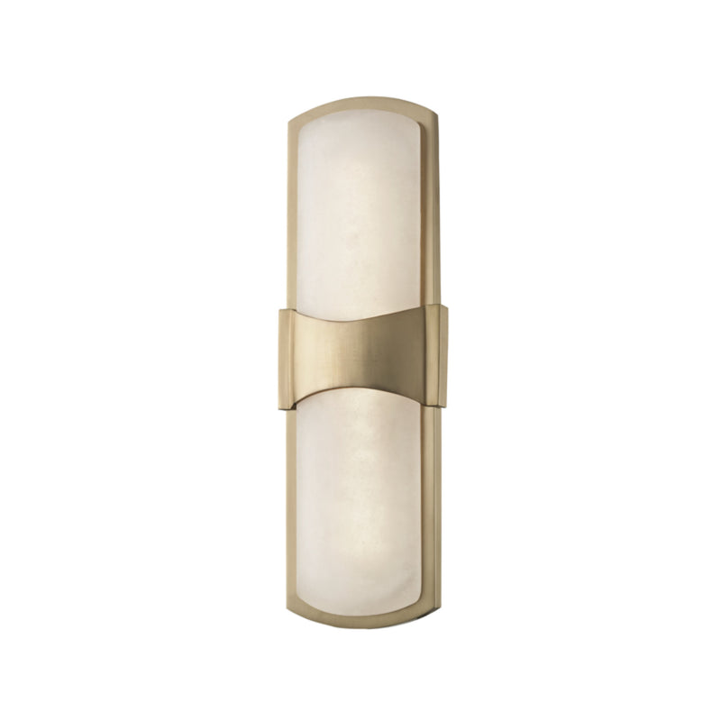 Hudson Valley Lighting 3415-AGB Valencia Led Wall Sconce in Aged Brass