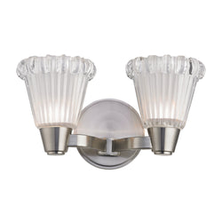 Hudson Valley Lighting 3442-SN Varick 2 Light Bath Bracket in Satin Nickel