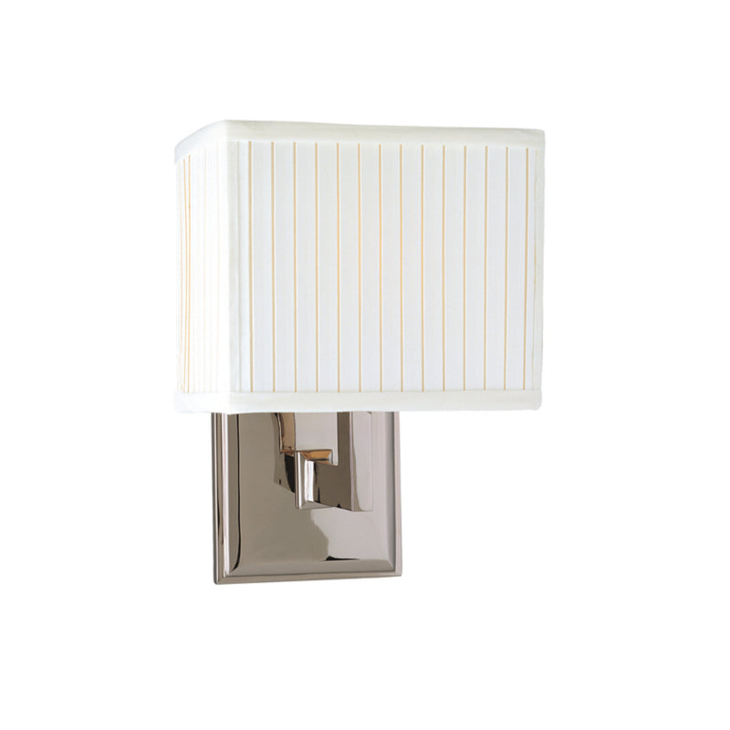 Hudson Valley Lighting 351-PN Waverly 1 Light Wall Sconce in Polished Nickel